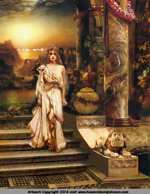 greek mythology painting og helen